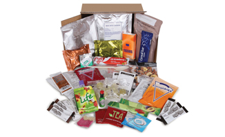 British Army 24 Hour Ration Pack | ArmyRation info MRE from EVAQ8.co.uk long life food rations