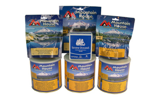 Survival Food Pack 1 Month Supply | ArmyRation info MRE from EVAQ8.co.uk long life food rations
